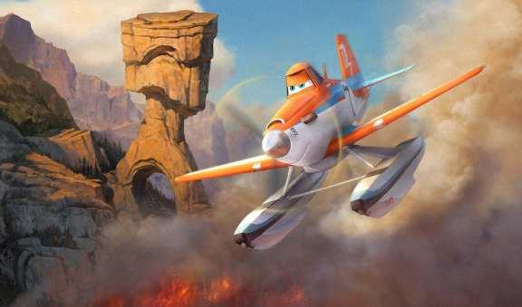 Самолеты огонь и вода
